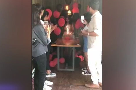 حادثه هولناک در جشن تولد دختر جوان