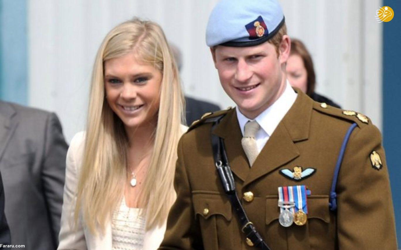 (تصاویر) حضور یک دختر غمگین در مراسم ازدواج سلطنتی!