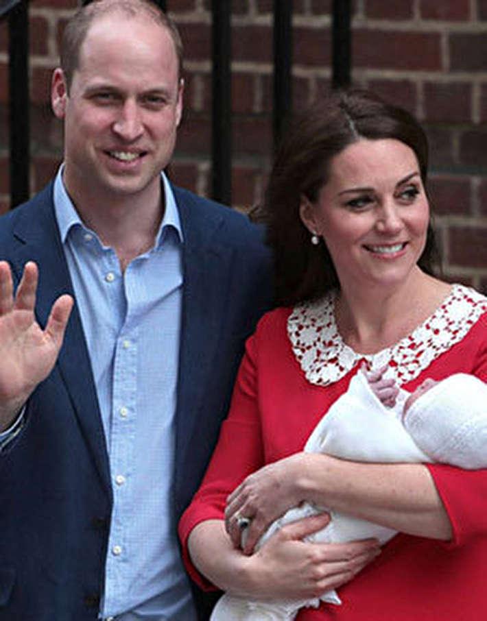(تصاویر) رونمایی از سومین فرزند شاهزاده ویلیام