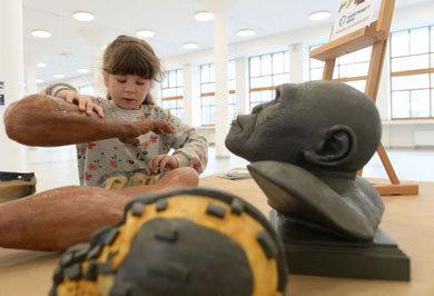 (تصاویر) بازآفرینی چهره انسان اولیه در مسکو
