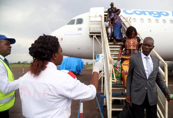 (تصاویر) شیوع بیماری مسری و خطرناک ابولا در کنگو