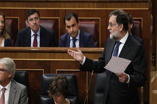 نخست وزیر اسپانیا برکنار شد ,