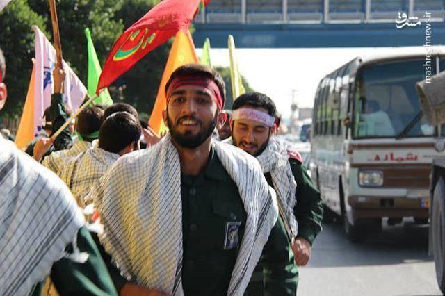 (عکس) شهید حججی در سالگرد رحلت امام(ره)