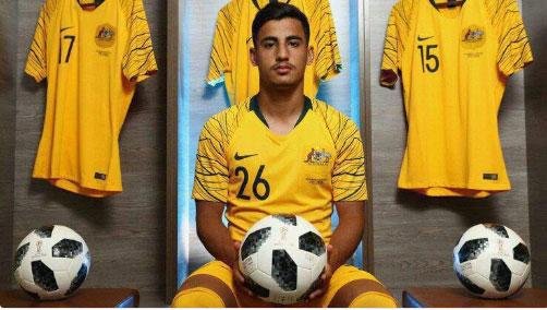 (تصویر) یک ایرانی تبار جوانترین بازیکن جام جهانی