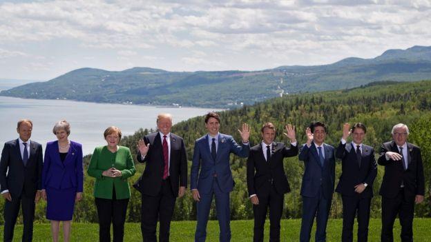 انزوای بیسابقه ترامپ در اولین روز نشست گروه هفت