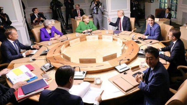 ترامپ: با اعضای گروه ۷ یا بدون آنها، ایران را مهار میکنیم