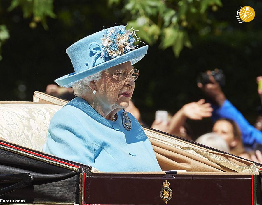 (تصاویر) برگزاری جشن تولد رسمی ملکه انگلستان