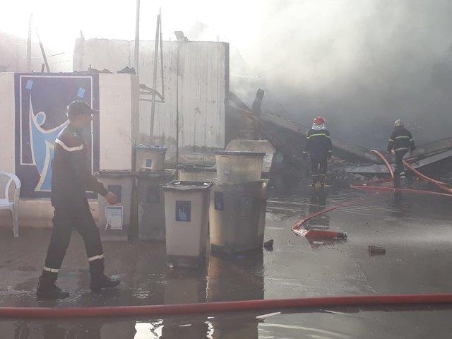 هشدار درپی آتشسوزی در مخازن صندوقهای رای در عراق