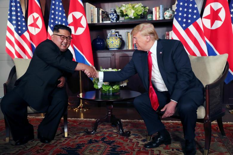 (تصاویر) بازتاب دیدار ترامپ و