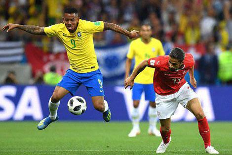 واکنش هوادارن برزیل پس از تساوی با سوییس