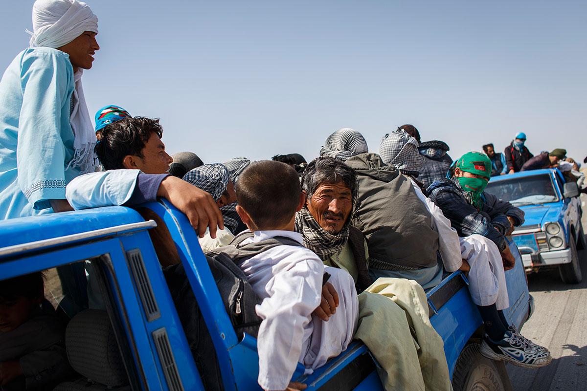خروج افغانستانیها از ایران