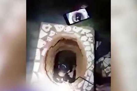 نقشه فرار از زندان از راه کاسه توالت!