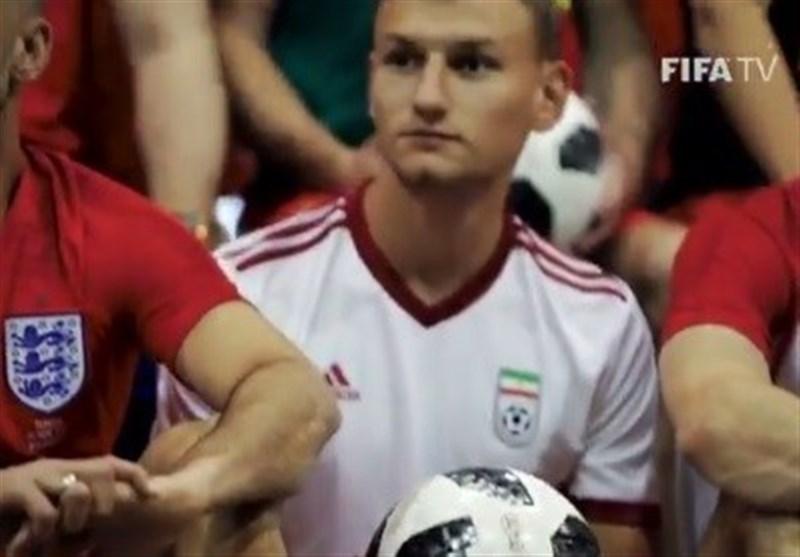 تصویر لو رفته از طرح پیراهن اول تیم ملی برای جام جهانی