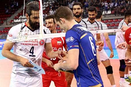 (ویدئو) خلاصه دیدار والیبال؛ فرانسه ۳ - ایران ۱