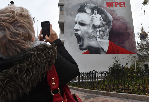(تصاویر) گرافیتهای جام جهانی 2018 در مسکو