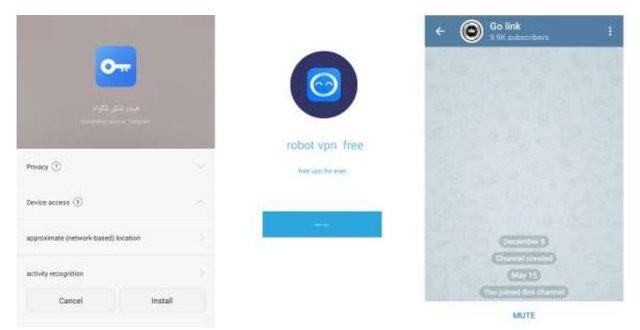 هشدار فوری درباره برنامه فیلترشکن تلگرام