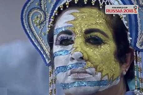 (ویدئو) اشکها و لبخندها در جام جهانی روسیه