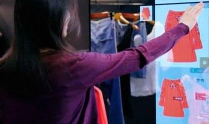 پیشنهاد لباس مناسب با آینه هوشمند