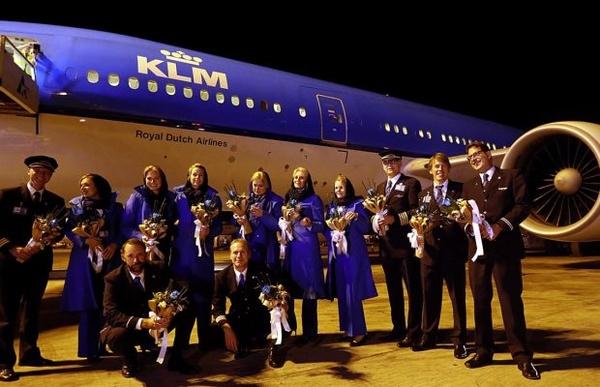 توقف پروازهای شرکت KLM هلند به ایران از اول مهر