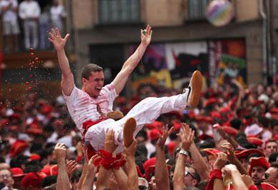 (تصاویر) سنت خونین ماتادورها در اسپانیا آغاز شد