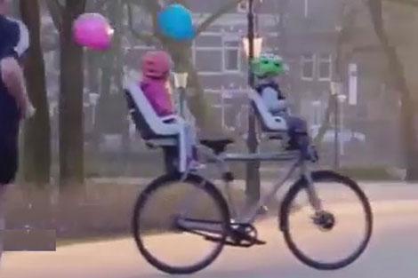 تکنولوژی فوق پیشرفته در یک دوچرخه