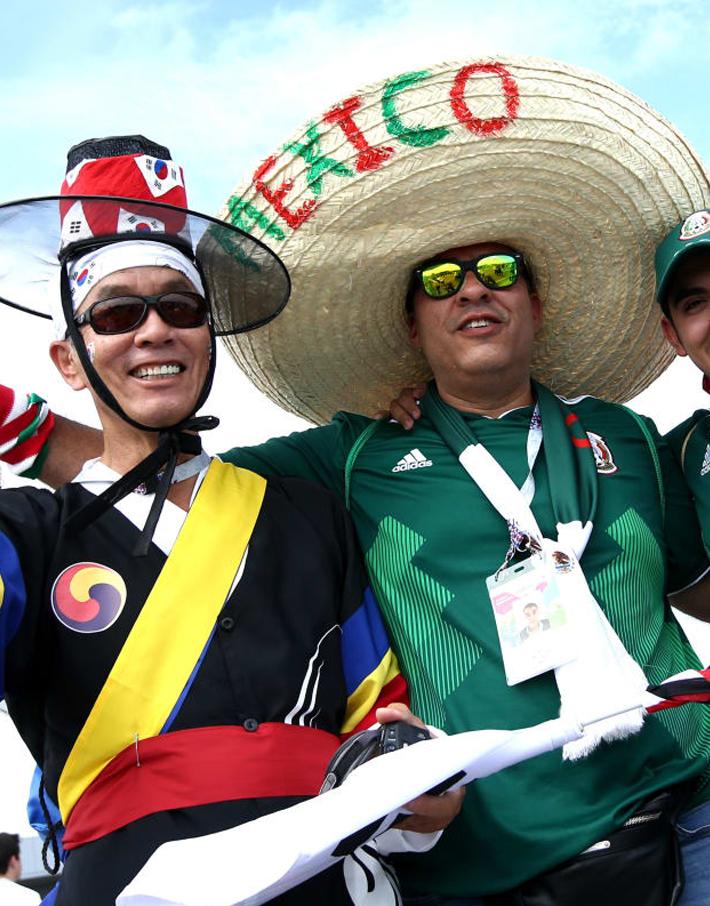 (تصاویر) مکزیک حسابِ چشمبادامیها را هم رسید!