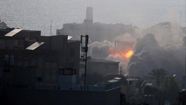 رژیم صهیونیستی دوباره غزه را بمباران کرد