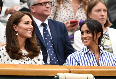 (تصاویر) جاریهای سلطنتی در حال تماشای تنیس ویمبلدون!