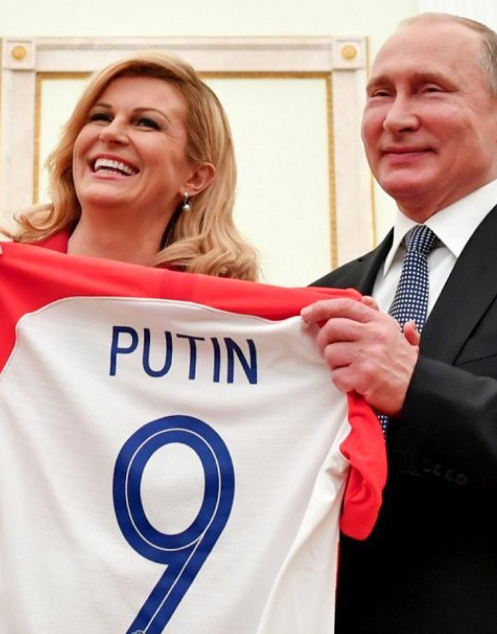 (تصاویر) در فینال جام جهانی ۲۰۱۸ چه گذشت؟