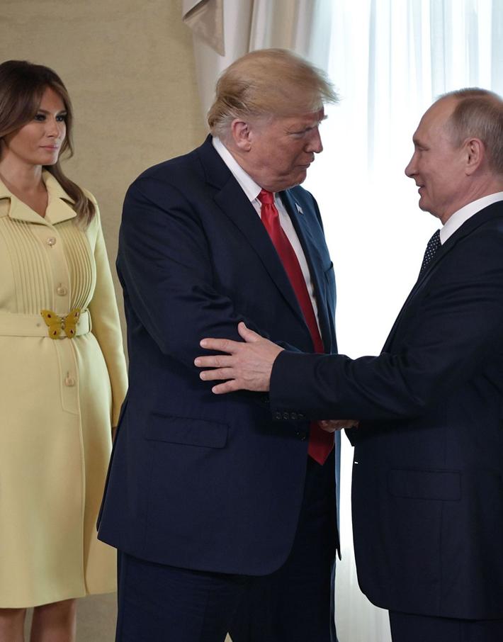 (تصاویر) دیدار تاریخی پوتین و ترامپ در هلسینکی