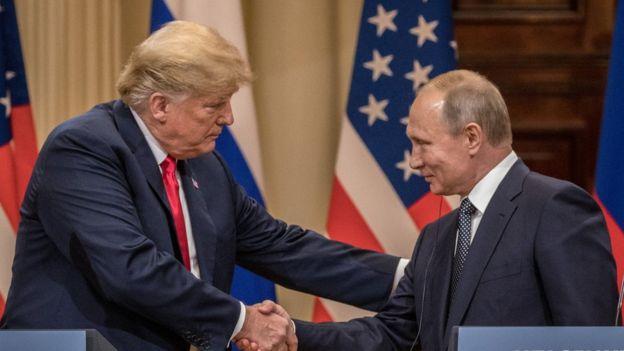 پوتین: مدرک رسواکنندهای علیه ترامپ نداریم