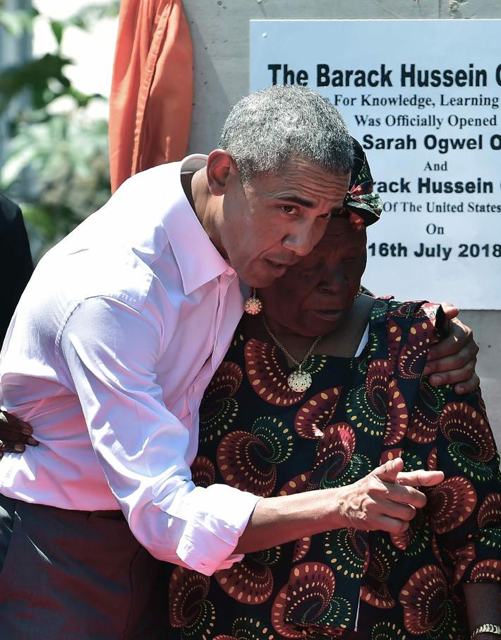(تصاویر) سفر اوباما به زادگاه پدریاش در کنیا