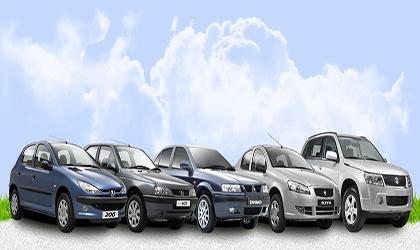 افزایش ۱ تا ۲ میلیون تومانی قیمت خودرو