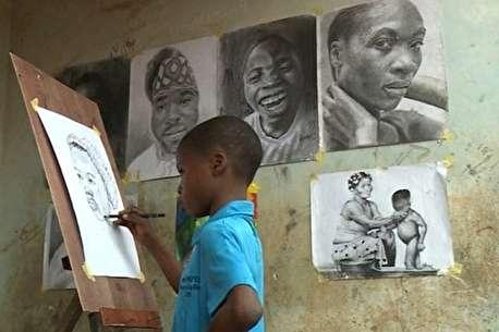 (ویدئو) شاهکارهای میکلآنژ ۱۱ سالۀ سیاه