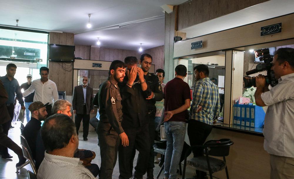 دزد فراموشکار بانک جنوب تهران خودش را زندانی کرد!