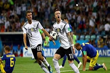 (ویدئو) خلاصه بازی آلمان ۲ - سوئد ۱