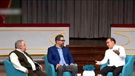 (ویدئو) شوخی اکبر عبدی با یورگن کلوپ و دینمحمدی