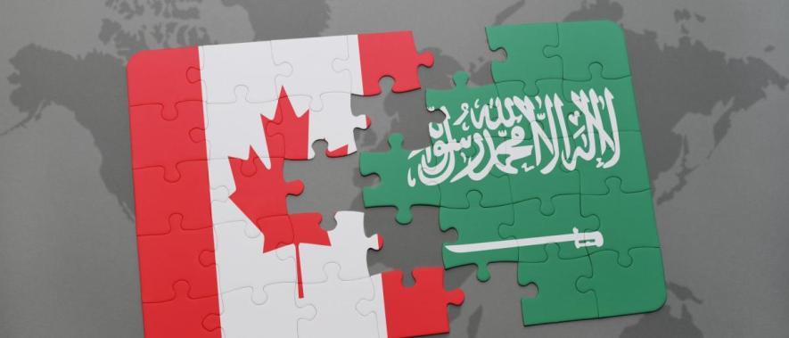 تصادف شاخ به شاخ عربستان و کانادا
