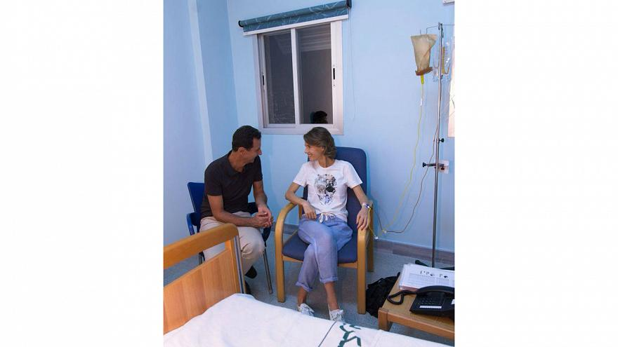 همسر بشار اسد به سرطان سینه مبتلا شده است
