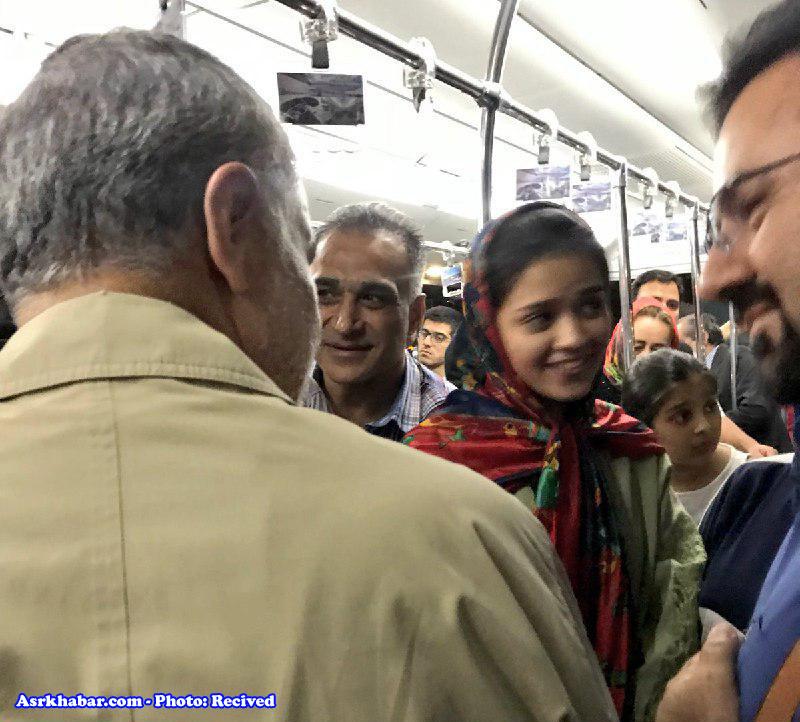 سردار سلمیانی در میان مسافران عادی هواپیما
