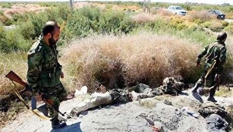 (ویدئو) اولین تصاویر از اجساد تروریستها در غرب کشور
