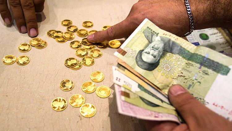قیمت سکه در بازار تهران ریخت