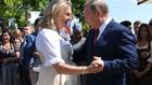 (تصاویر) رقص و آواز پوتین در مراسم ازدواج وزیر خارجه اتریش