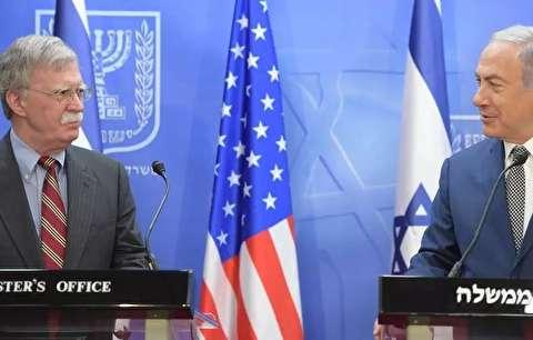 وبگاه اسرائیلی: سفر بولتون به اسرائیل برای هماهنگسازی عملیات نظامی علیه ایران در سوریه بود