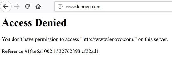 «لنوو» ایران را در فهرست تحریم قرار داد