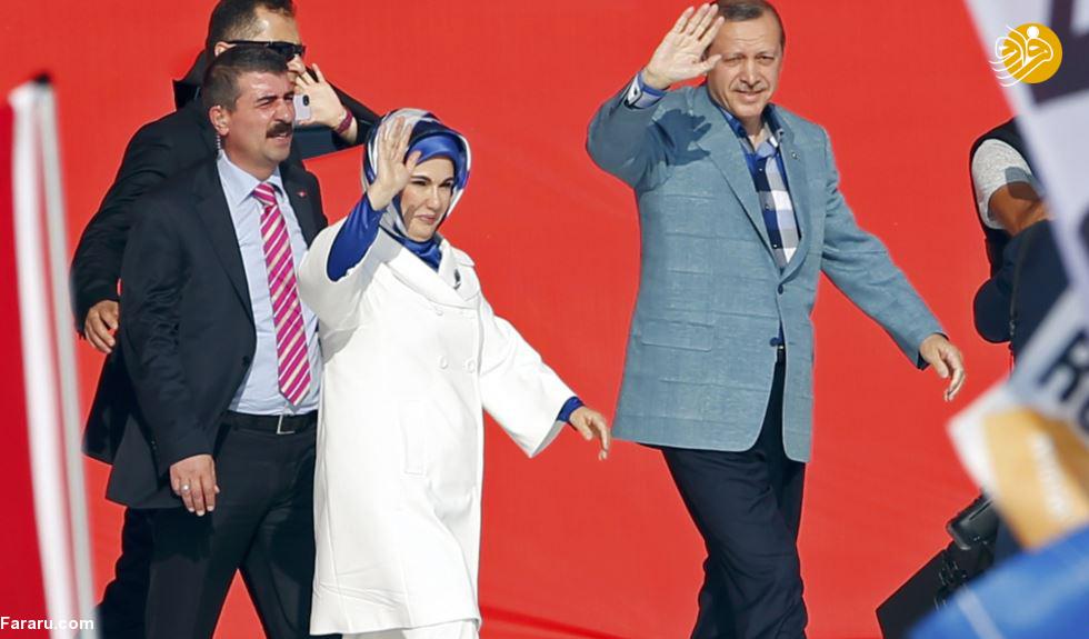 (تصاویر) هدیه لوکس چهارصد میلیون دلاری امیر قطر به اردوغان