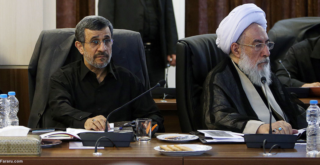 (تصاویر) دردسرهای حضور احمدینژاد در جلسات مجمع