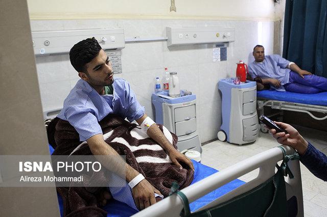(تصاویر) حمله اهواز از زبان سربازان مجروح صفهای اول رژه