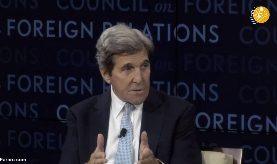 (ویدئو) جان کری اینگونه درخواست بمباران ایران را مسخره کرد/ در حال تدوین