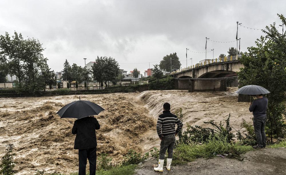 اخطار هواشناسی نسبت به سیلاب ناگهانی شمال